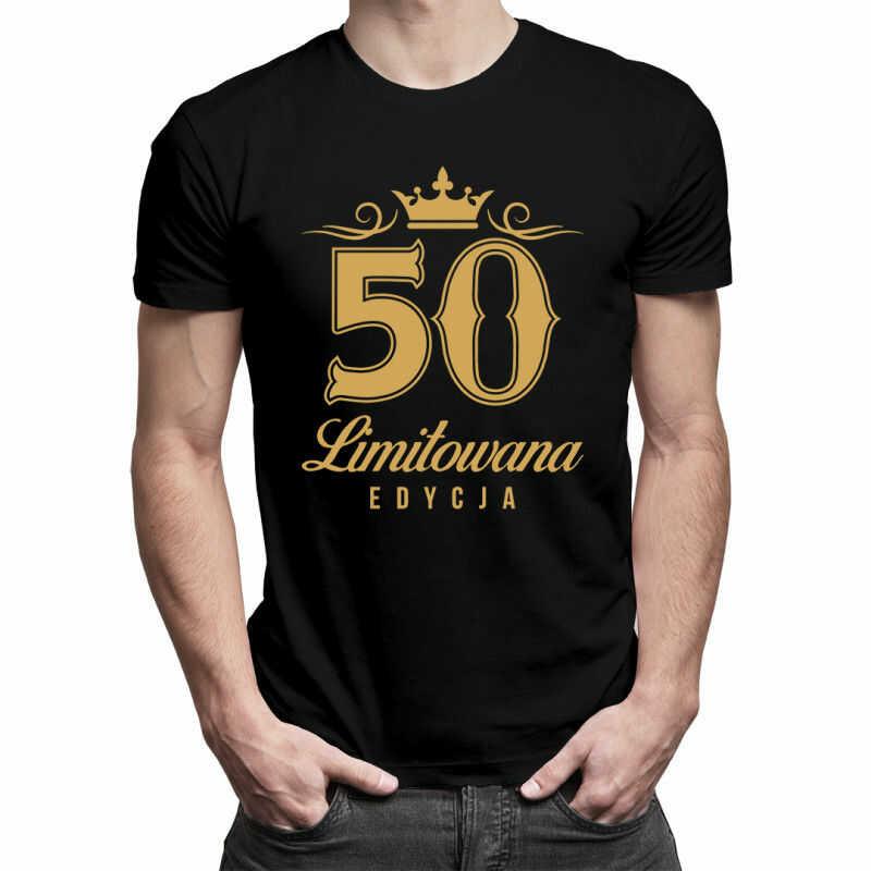 50 lat - limitowana edycja - męska koszulka z nadrukiem
