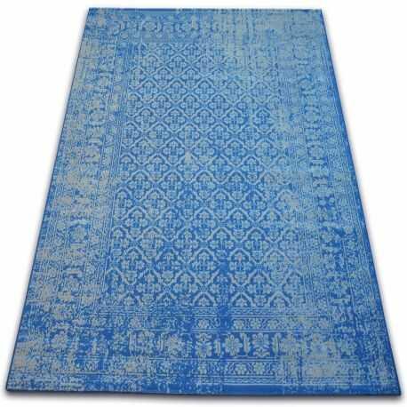 Dywan Vintage Kwiaty 22209/543 niebieski 120x170 cm