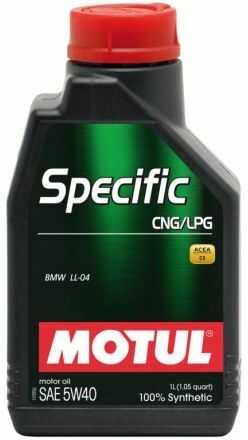 Motul Specific CNG-LPG 5W40 1l