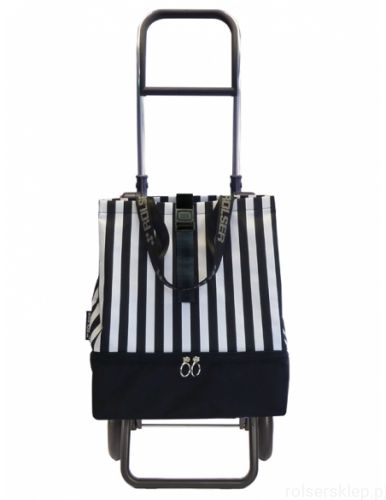 Wózek na zakupy Rolser Logic RG Mini Bag Plus Termo MF Marina w paski