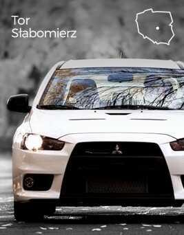 Jazda za kierownicą Mitsubishi Lancer Evo X  Tor Słabomierz