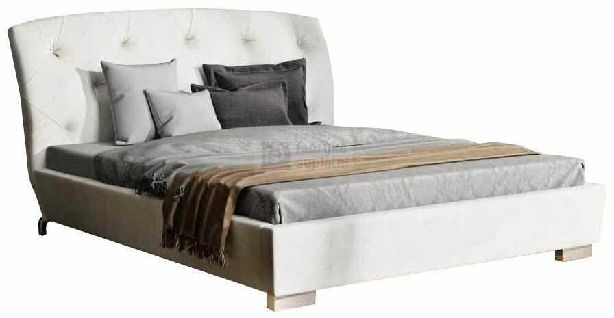 Łóżko tapicerowane Verona z pojemnikiem New Design
