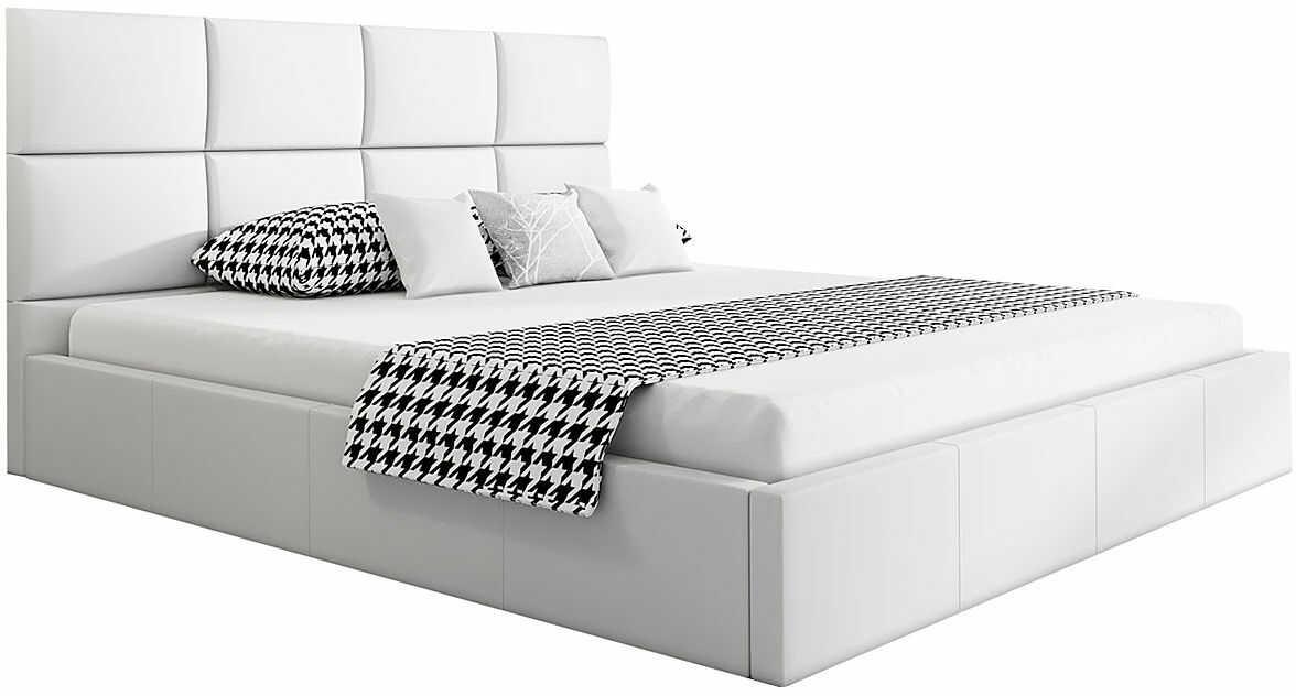 Pojedyncze łóżko ze stelażem 120x200 Nikos 2X - 48 kolorów