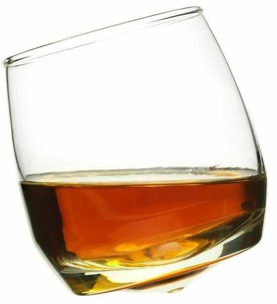 Sagaform - bar - bujające się szklanki do whiskey, 6 szt.