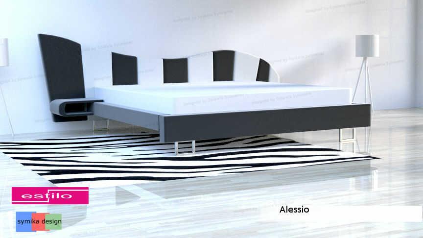 Łóżko do sypialni Alessio - meble do sypialni