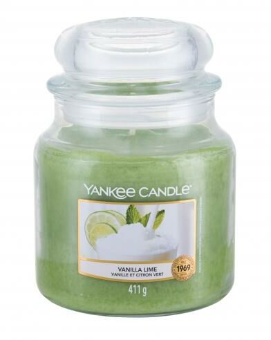 Yankee Candle Vanilla Lime świeczka zapachowa 411 g unisex