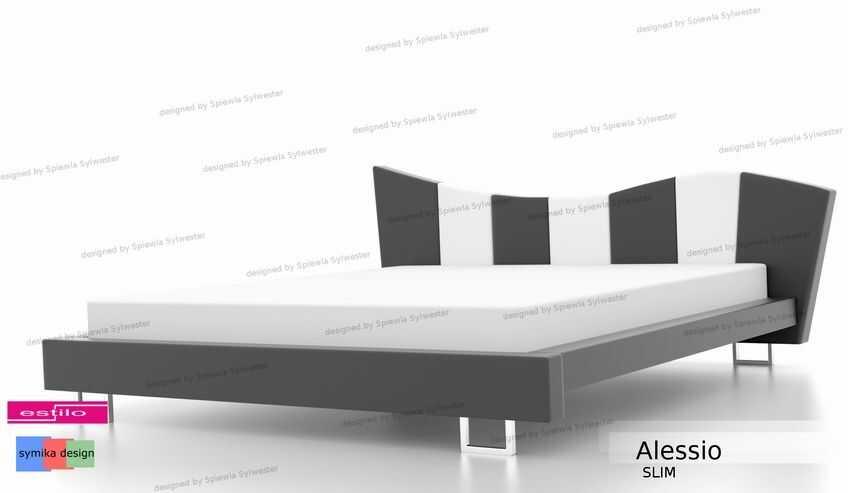 Łóżko do sypialni Alessio Slim - meble do sypialni