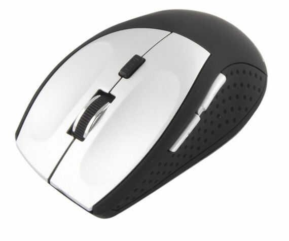 EM123S Mysz bezprzewodowa Bluetooth 6D optyczna Andromeda srebrna