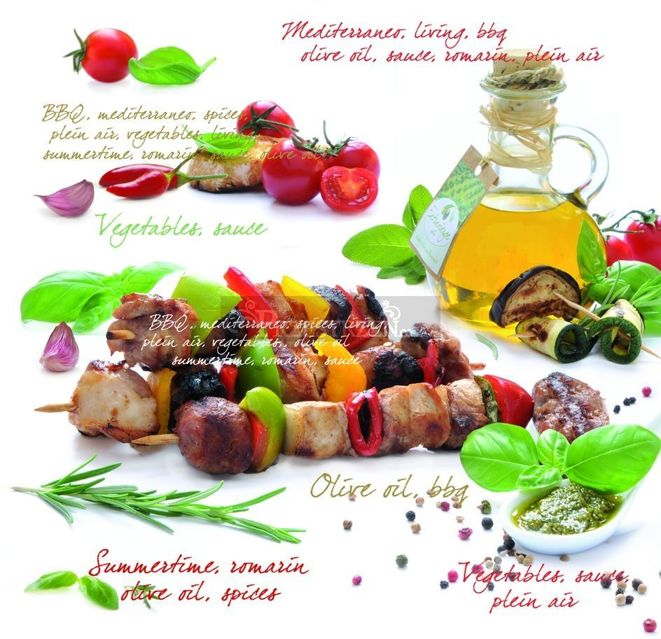 SERWETKI PAPIEROWE - Barbeque - BBQ - Easy Life