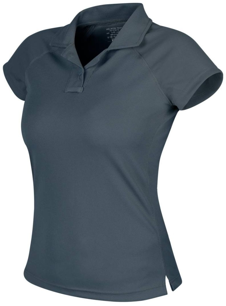 Koszulka termoaktywna Polo Helikon Women''s UTL TopCool Lite Shadow Grey (PD-UTW-TL-35) H