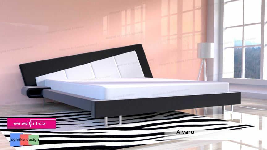 Łóżko do sypialni Alvaro - meble do sypialni
