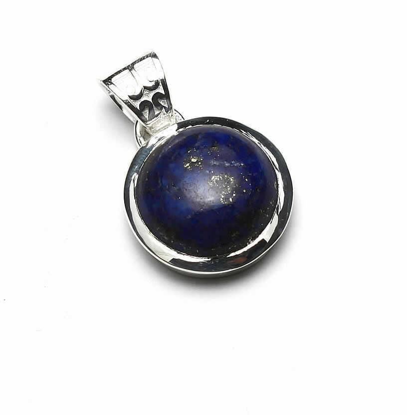 Kuźnia Srebra - Zawieszka srebrna, 27mm, Lapis Lazuli, 5g, model