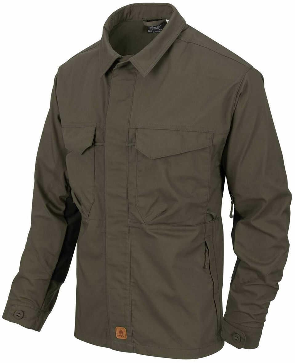 Koszula Helikon Woodsman Taiga Green / Black (KO-WDN-DC-0901A) H
