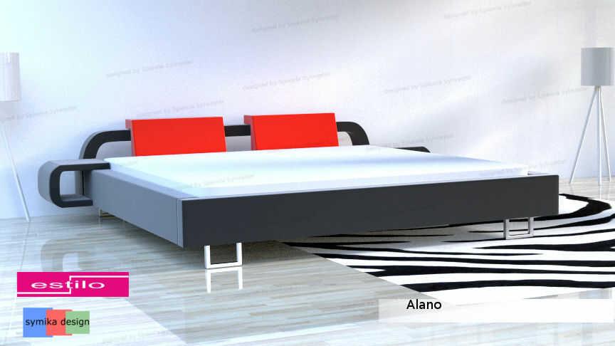 Łóżko do sypialni Alano - meble do sypialni