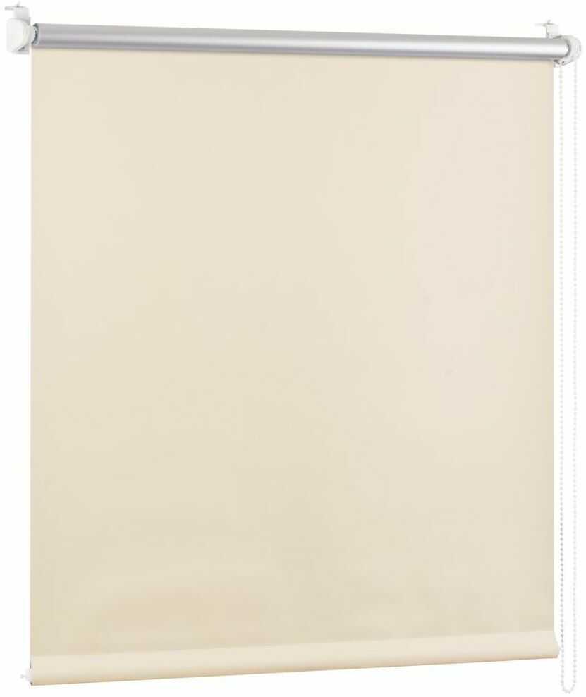Roleta zaciemniająca BLACKOUT 110 x 150 cm kremowa termoizolacyjna