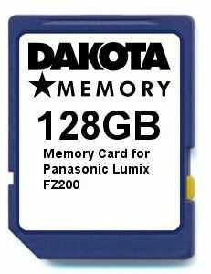 Karta pamięci 128 GB do Panasonic Lumix FZ200