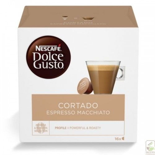 NESCAFE DOLCE GUSTO Cortado Espresso Macciato 16 k