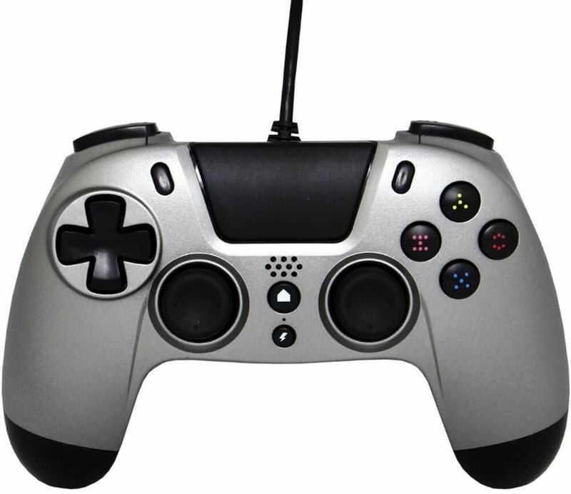 Gioteck Kontroler przewodowy VX4 PS4/PC szary