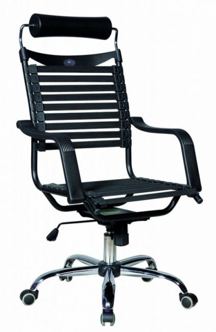 Fotel SMART II CZARNY pasy elastyczne - HAL042