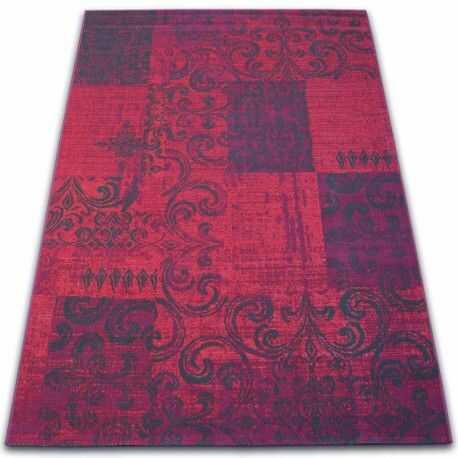 Dywan Vintage 22215/082 fuksja patchwork 160x230 cm