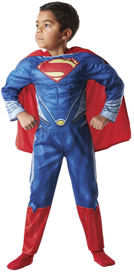 "''Rubie ''s  kostium dziecięcy Superman musculoso""Man Of Steel in Box (888342-l)"