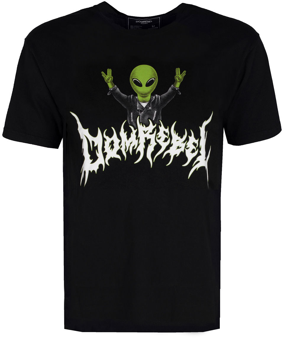 "Domrebel Domrebel T-shirt ""Alien Box T"""