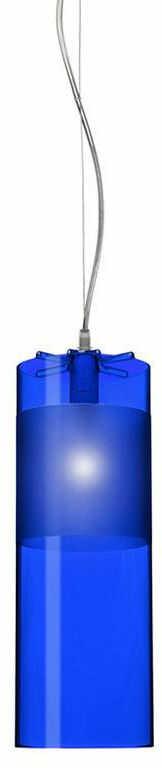 Easy niebieski - Kartell - lampa wisząca