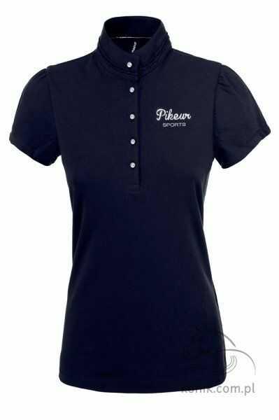 Koszulka polo MINA damska - Pikeur - night blue