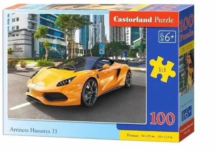 Puzzle 100 Arrinera Hussarya 33 CASTOR - Castorland