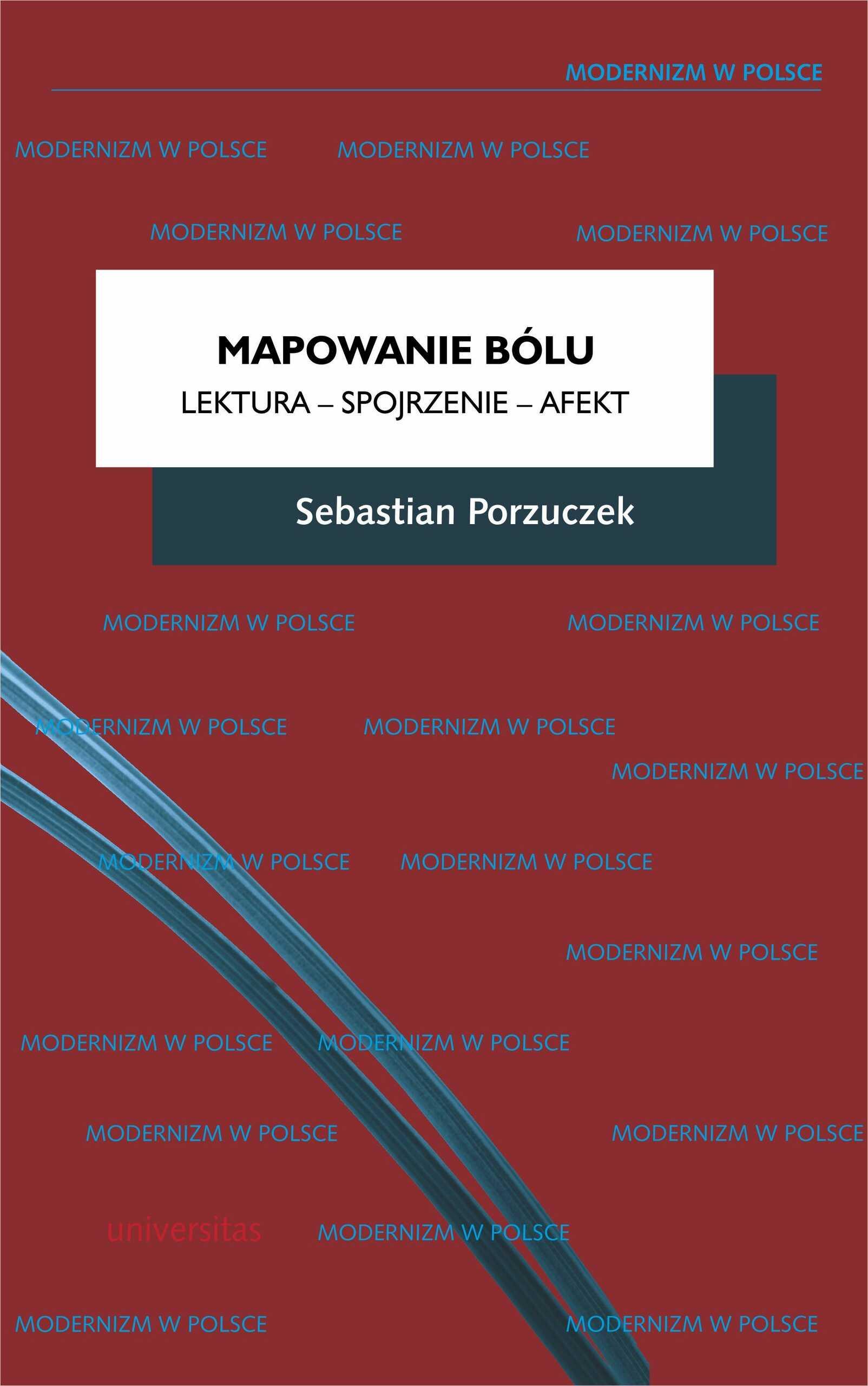 Mapowanie bólu. Lektura  Spojrzenie  Afekt - Sebastian Porzuczek - ebook