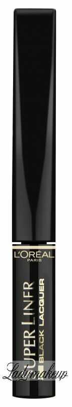 L''Oréal - Super Liner Black Lacquer - Precyzyjny i długotrwały liner o intensywnej barwie