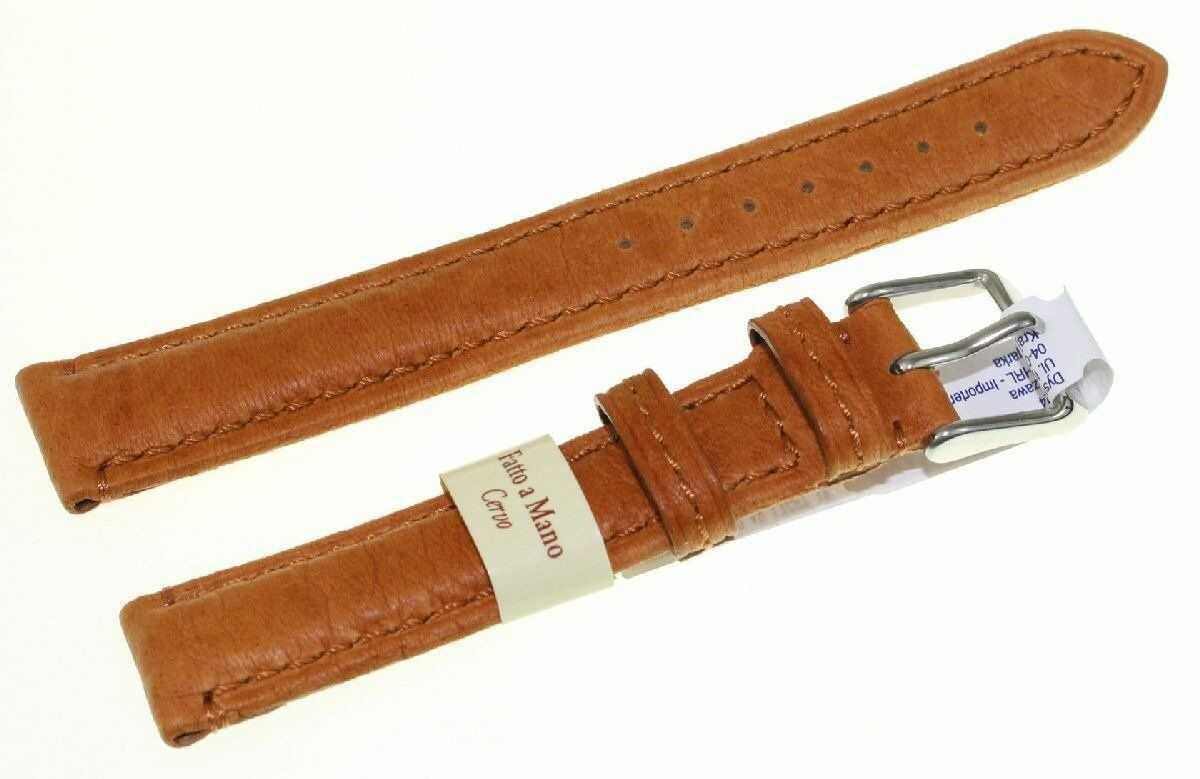 Pasek do zegarka ze skóry jelenia 18 mm Morellato A01U3221767037CR18