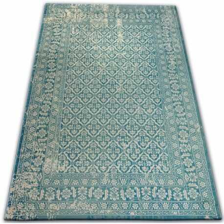 Dywan Vintage 22209/644 turkus / krem klasyczny 120x170 cm