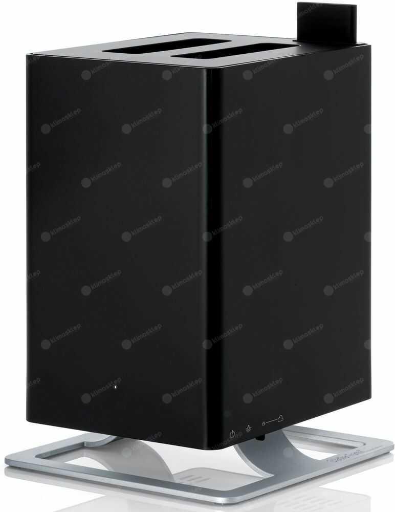 Ultradźwiękowy nawilżacz powietrza Stadler Form Anton - czarny