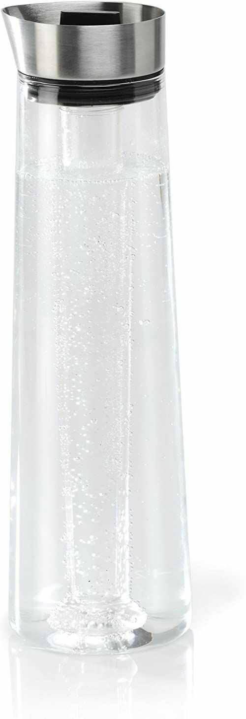 blomus Karafka chłodząca ze stali nierdzewnej/szkła Acqua z wkładem