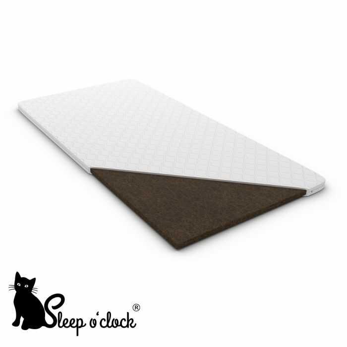 materac nawierzchniowy FIT sleep o''clock 200x200 H4 + RATY