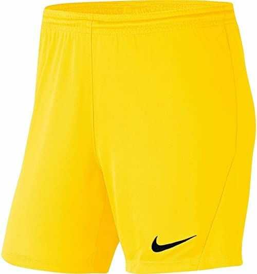 Nike Szorty damskie Short Park Iii Short Nb żółty Tour Yellow/(Black) m