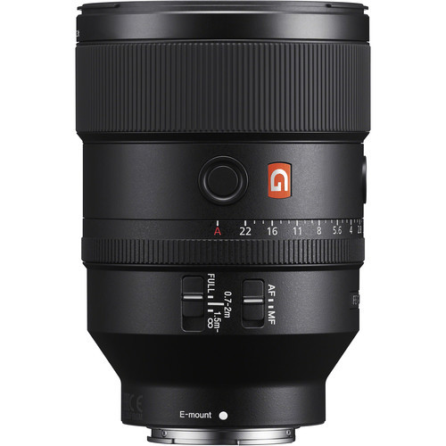 Sony FE 135mm F1.8 GM - obiektyw stałoogniskowy, SEL135F18GM Sony FE 135mm f/1.8 GM / SEL135F18GM