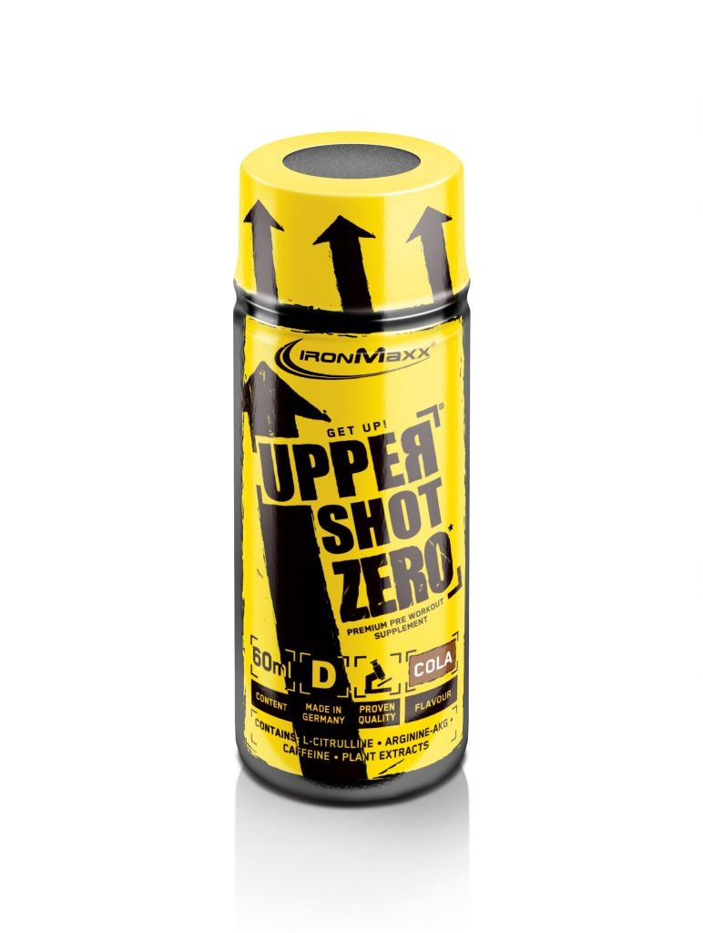 Ironmaxx Upper Energy Shot 60ml, Smak: Cola