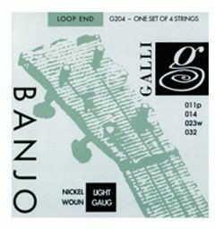 Galli G 204 - struny do banjo barytonowego