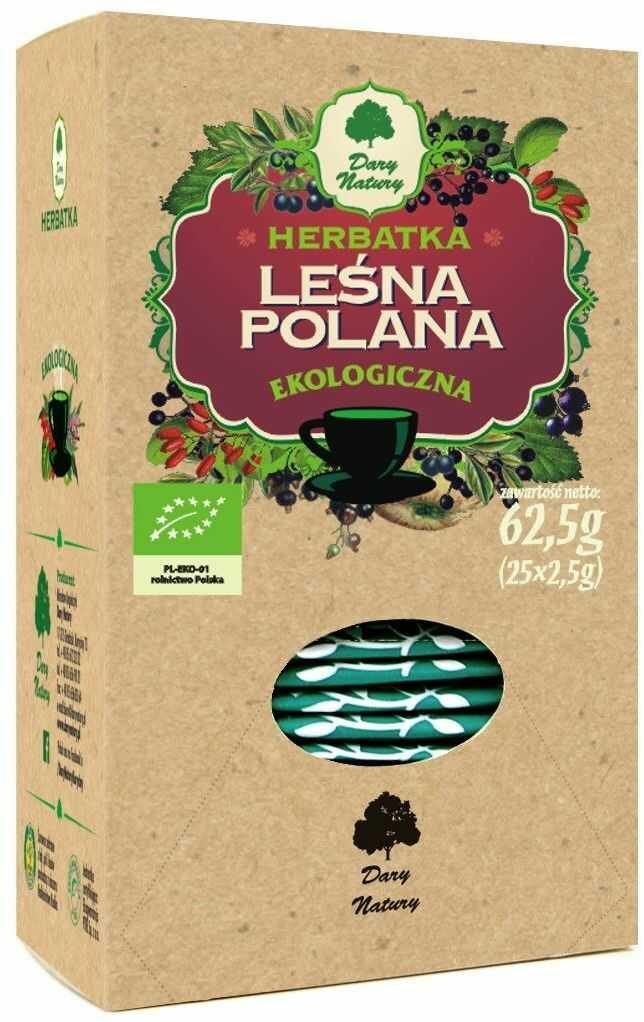 Herbatka leśna polana bio 25 x 2,5 g - dary natury