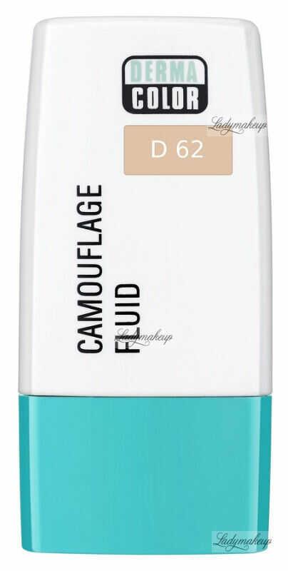 KRYOLAN - Dermacolor - Camouflage Fluid - Fluid wodoodporny - D 62
