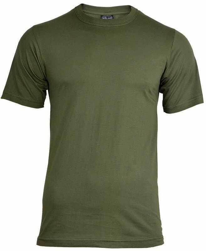 Koszulka T-Shirt Mil-Tec Stone Grey-Olive (11011016)