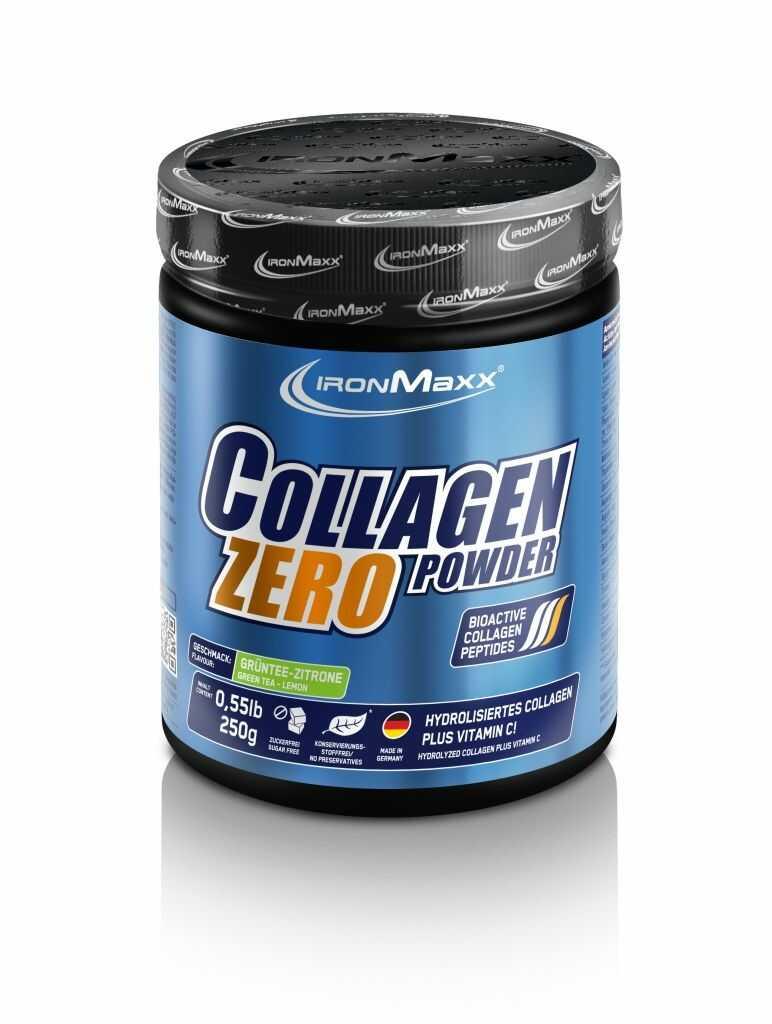 Ironmaxx Kolagen Zero 250g, Smak: Tropikalny