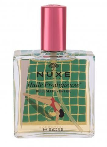 NUXE Huile Prodigieuse Limited Edition Multi-Purpose Dry Oil olejek do ciała 100 ml dla kobiet Red