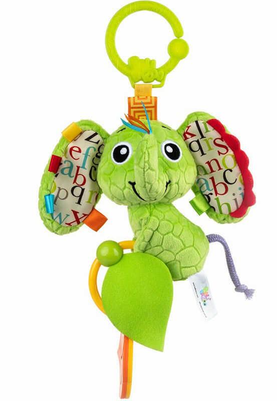 Dumel BaliBazoo - Zawieszka słoń Eva z gryzakami 86730