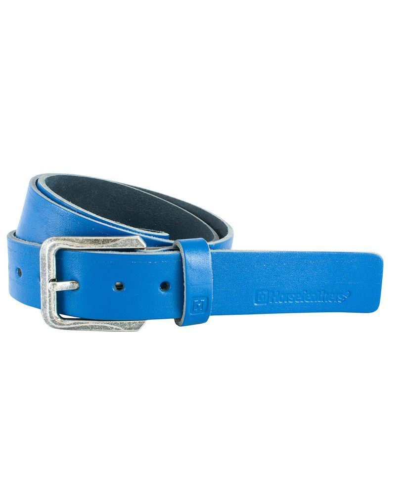 pasek damski HORSEFEATHERS NEDDY BELT (mid blue)
