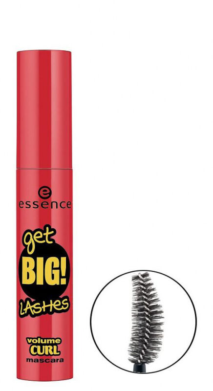 Essence - Maskara Get Big Lashes - Tusz do rzęs - VOLUME CURL