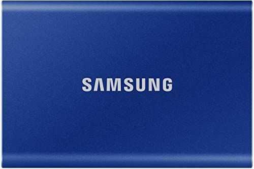 Samsung T7 Portable SSD - 1 TB - USB 3.2 Gen.2 zewnętrzny dysk SSD Indigo Blue (MU-PC1T0H/WW)