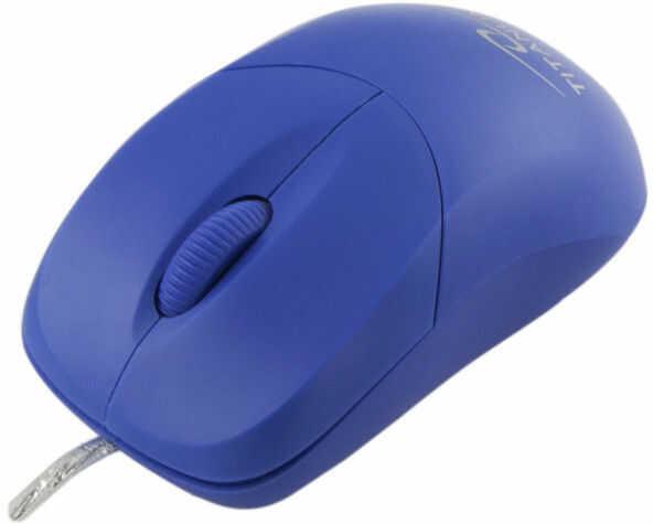 TM109B Mysz przewodowa 3D optyczna USB Arowana niebieska Titanum